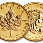 Feuille d'érable canadien
